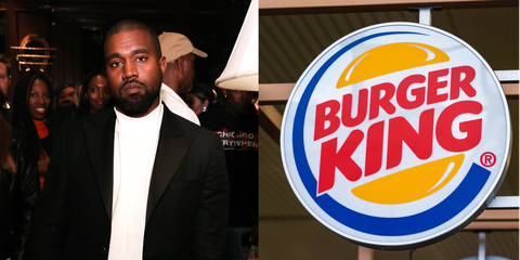 Burger King Just Posted A Shady Tweet About Kanye Wests Song