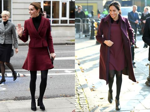 Street fashion, Clothing, Photograph, Fashion, Red, Snapshot, Coat, Footwear, Maroon, Knee,