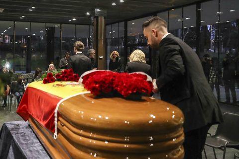 Elio Berhanyer funeral