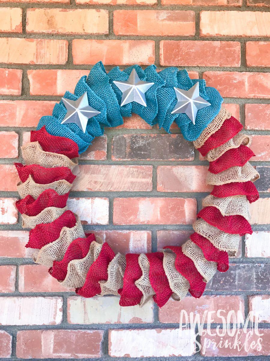 20 Diy 4th Of July Wreaths Easy Ideas For Fourth Of July Wreath Crafts