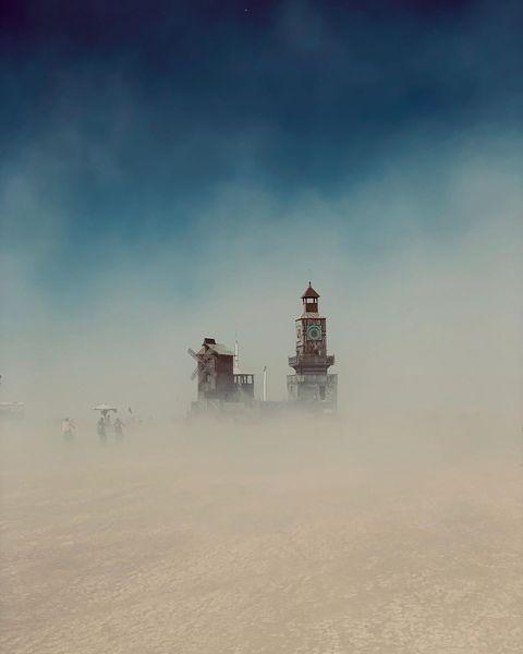 Burning Man 2019 fotografías de las instalaciones de arte