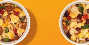 dunkin breakfast burrito bowl nutrition