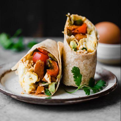 Veggie Packed Freezer-Friendly Breakfast Burritos