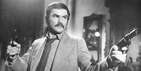 Actor Burt Reynolds in Shamus