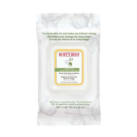Burts Bees Cotton Wipes