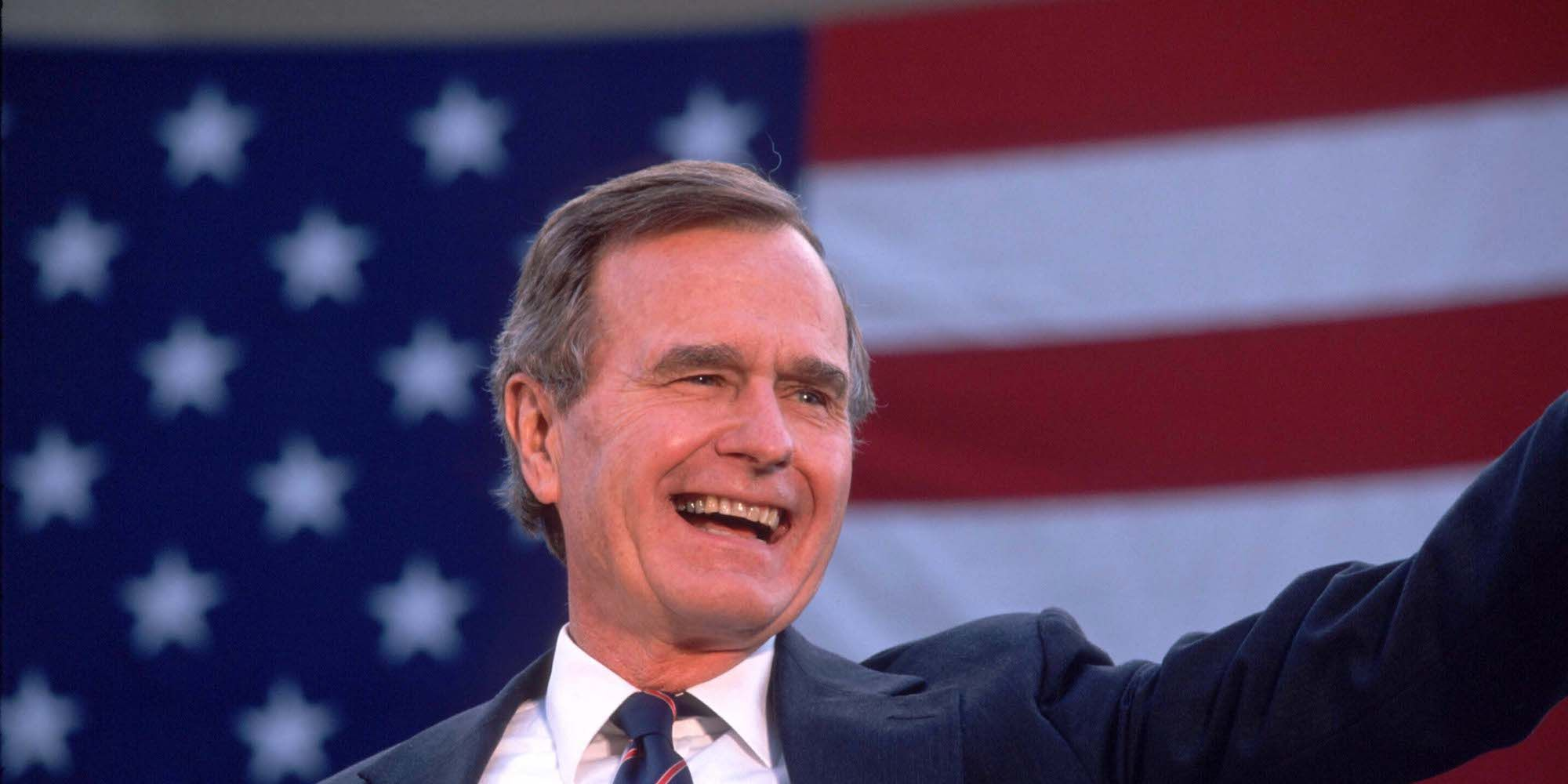 Bush Campaigns For Elections