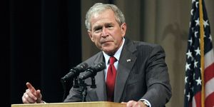 George W. Bush Gives His First Post-Presidency Speech
