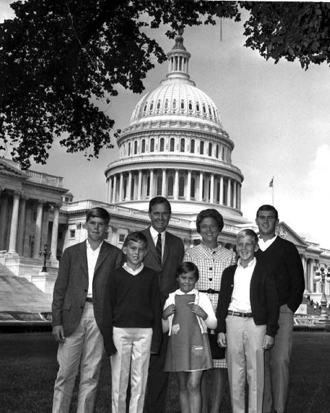 bush family 1967