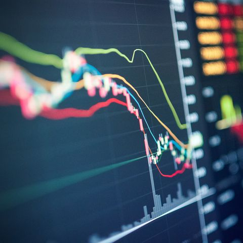 business analysis stock graph backtest in crisis covid 19 for investment in stockmarket and finance business planning selective stock for stockmarket crash and financial crisis