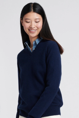 business-casual-for-women-cashmere-sweater