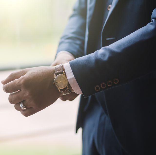 mannen horloge sieraden accessoires ring pak