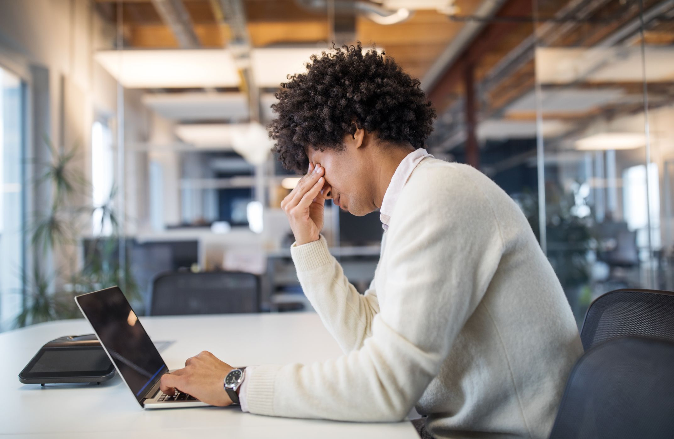 Work-Related Stress Can Cause Chronic Back Pain
