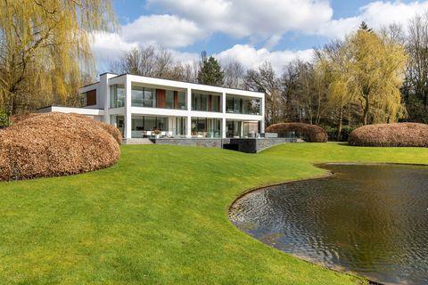 de door jan des bouvrie ontworpen villa van ton aan de stegge