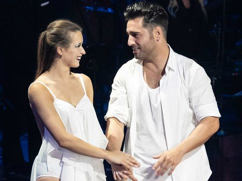 David Bustamante y Yana Olina en Bailando con las Estrellas