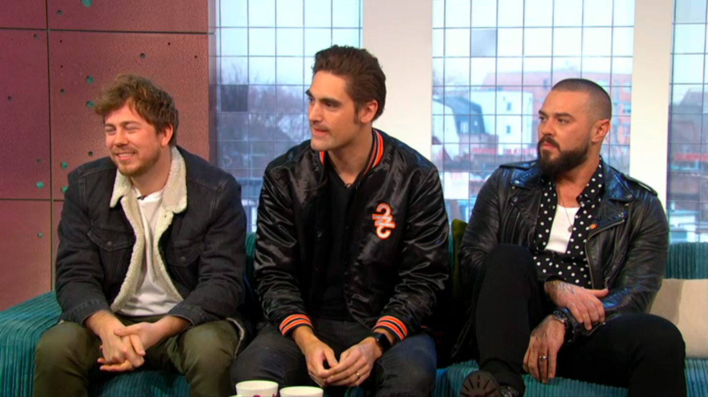 Exclusive: Busted's Charlie Simpson reveals how the band have changed since getting back together