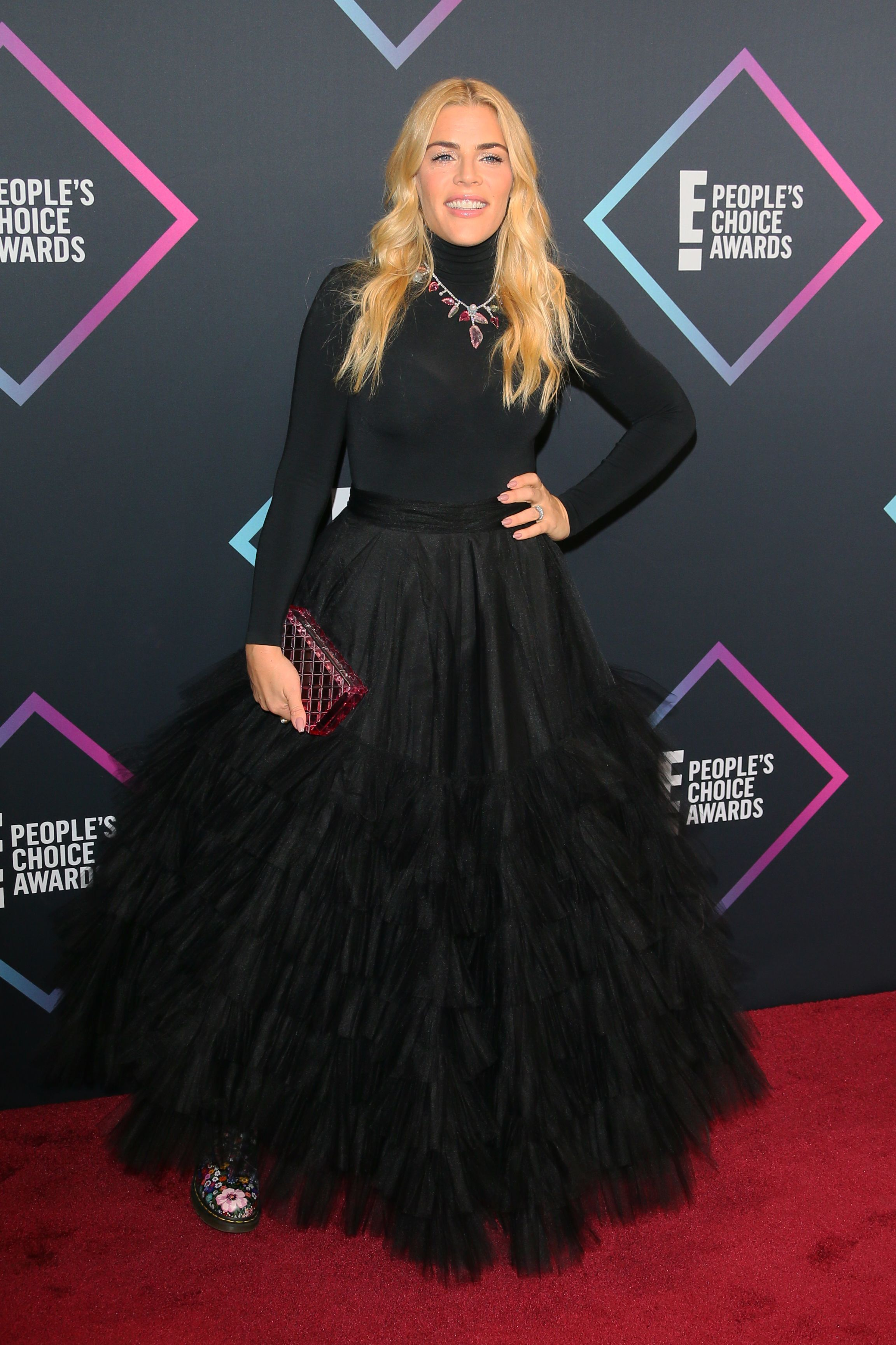 Fashion style Choice peoples awards red carpet for lady