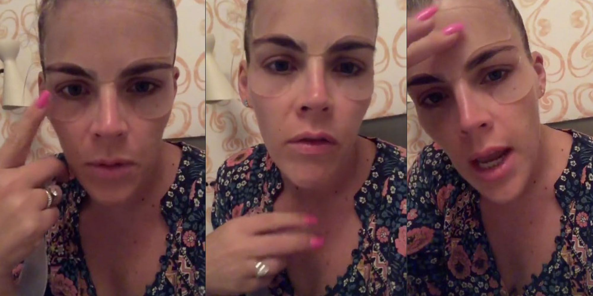 Busy Philipps Just Tried This Crazy Mask for Her Forehead Wrinkles