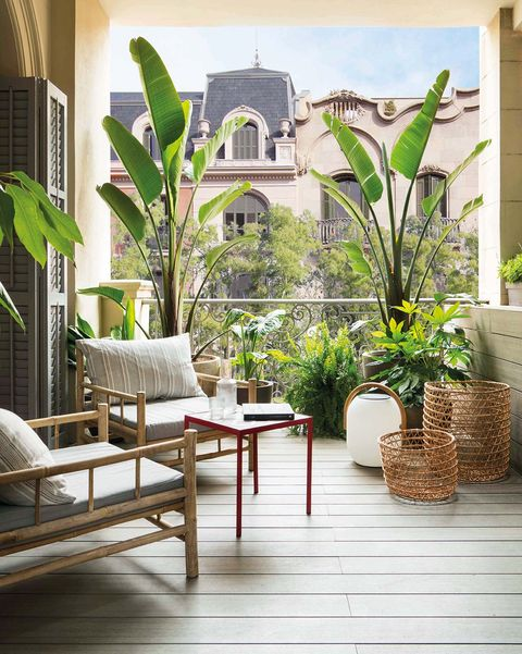 Muebles exterior: Terraza urbana
