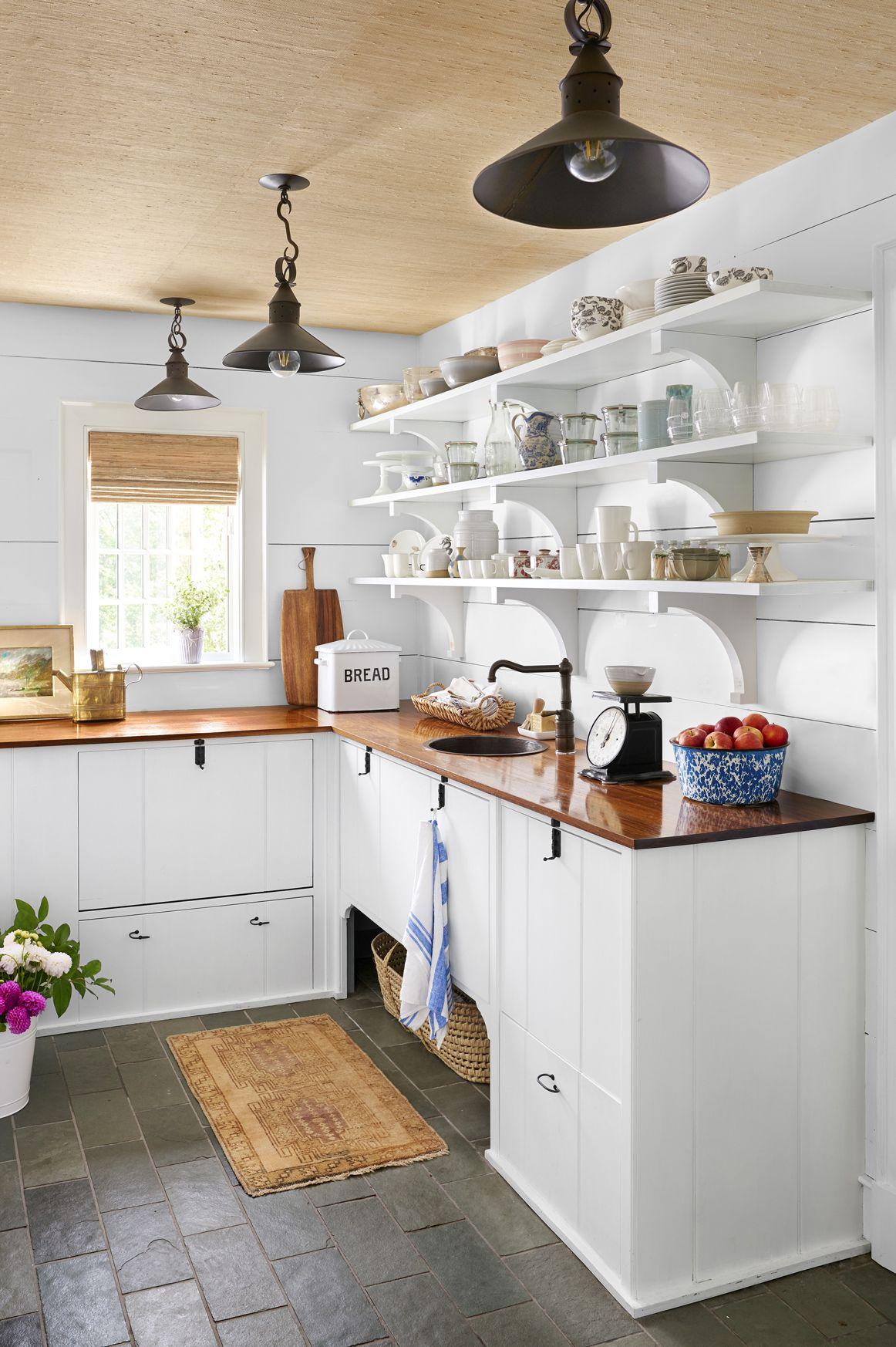 organized butler's pantry