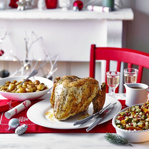 butter basted turkey crown and simple gravy