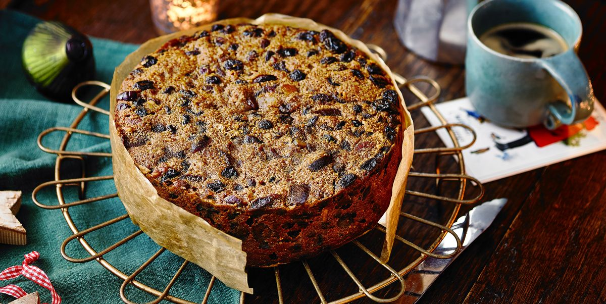 Buttered Rum Christmas Cake Recipe