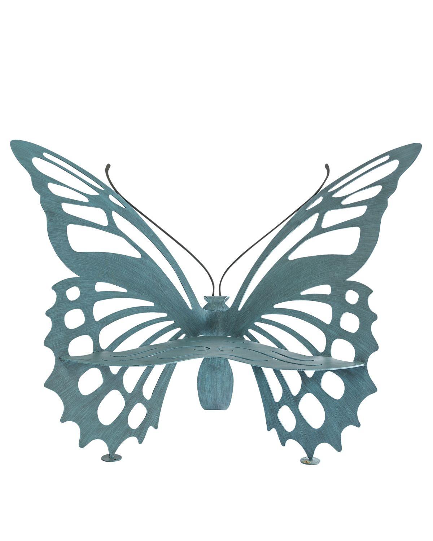 butterflies bench