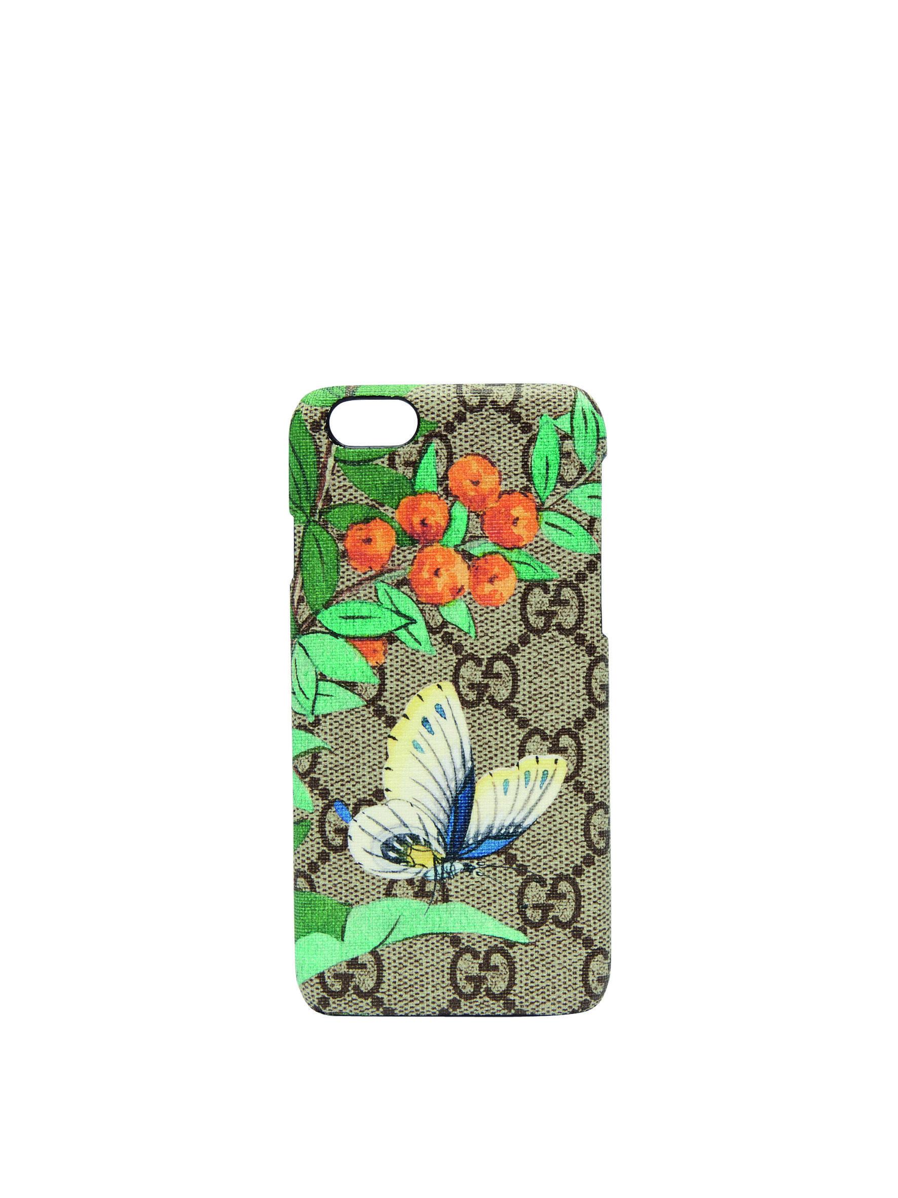 butterflies gucci iphone case