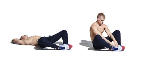 arm, abdomen, sitting, leg, muscle, joint, knee, exercise, crunch, physical fitness,
