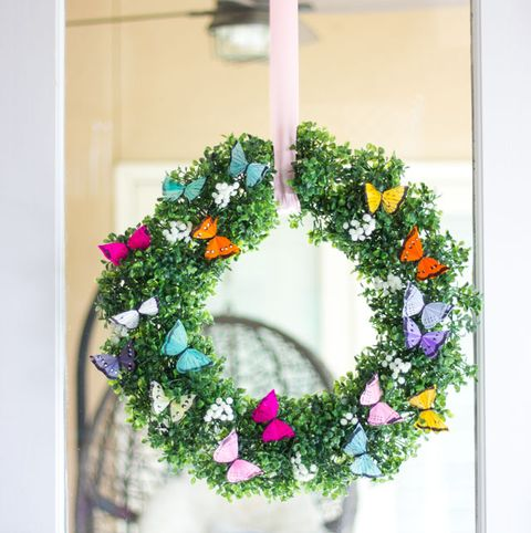 Butterfly Wreath - Summer Wreaths