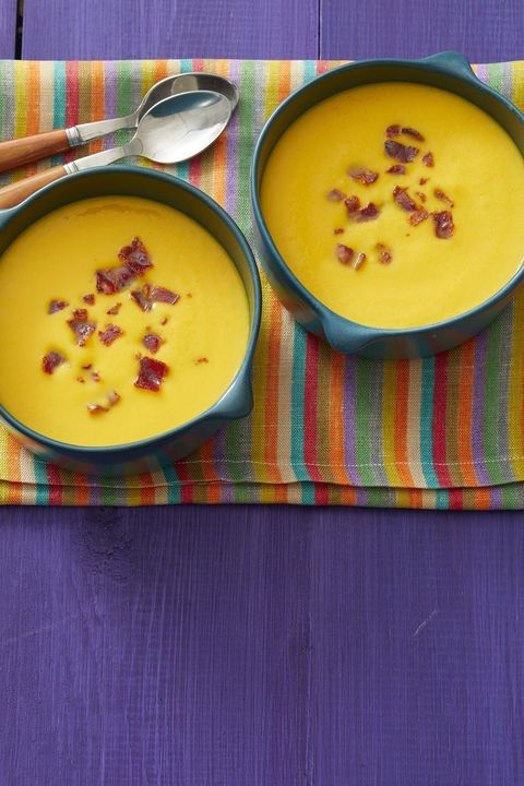 butternut squash with bacon fall soup recipes