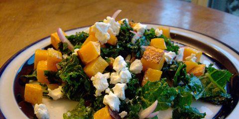Ravenous Butternut Squash Kale Salad
