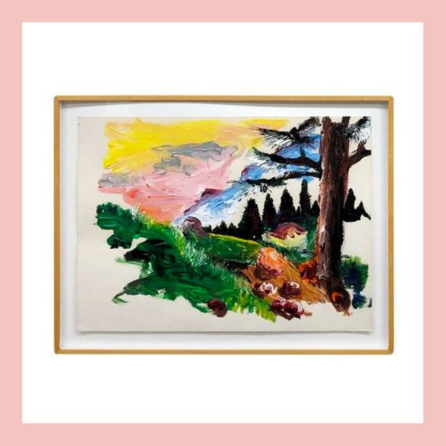 Modern art, Painting, Art, Visual arts, Watercolor paint, Picture frame, Tree, Illustration, Printmaking, Photographic paper,