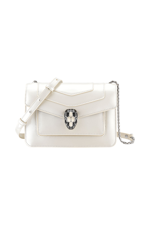 White, Bag, Handbag, Fashion accessory, Shoulder bag, Leather, Beige, Material property, Wristlet, Luggage and bags,