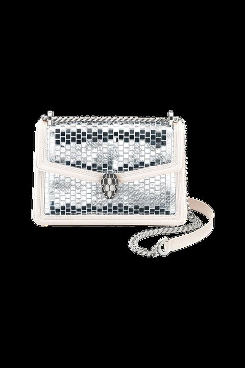 Bag, Fashion accessory, Handbag, Chain, Coin purse, Silver, Jewellery, Metal, Wallet,