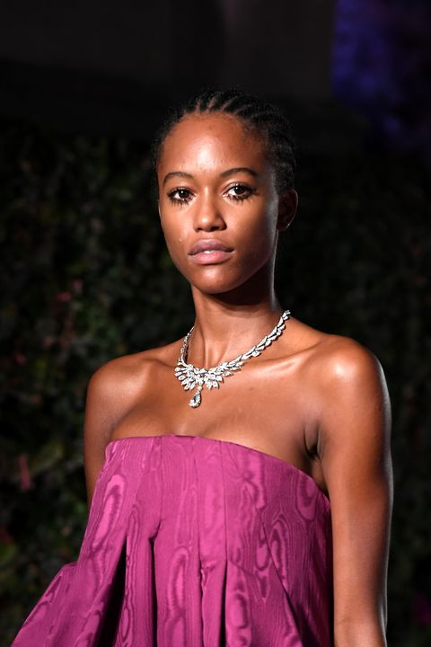 rome, italy   september 14 a model walks the runway during bulgari barocco on september 14, 2020 in rome, italy photo by daniele venturelligetty images for bulgari