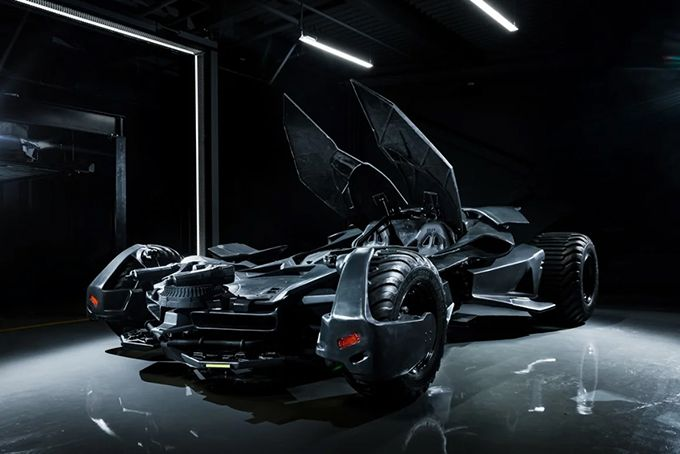 A Fully Functional Replica of the Batmobile From 'Batman v. Superman' Is Now Available to Buy