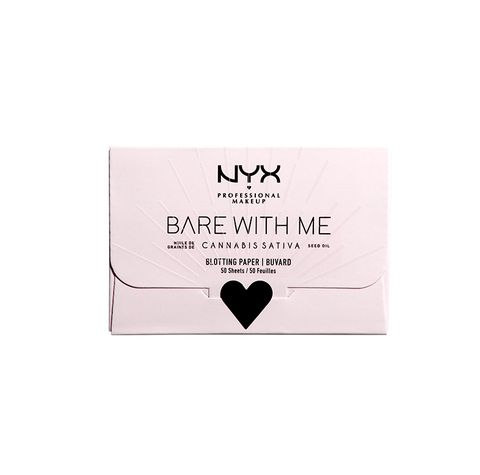 NYX Bare With Me blotting paper
