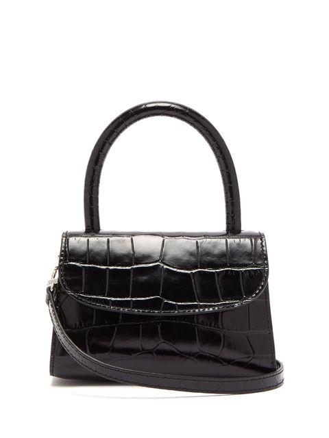 Handbag, Bag, Black, Product, Leather, Shoulder bag, Fashion accessory, Design, Material property, Tote bag,