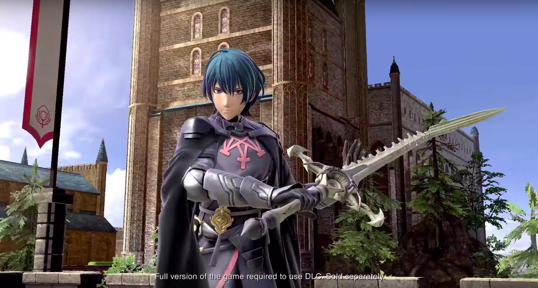 Fire Emblem's Byleth is the new Super Smash Bros. Ultimate DLC hero