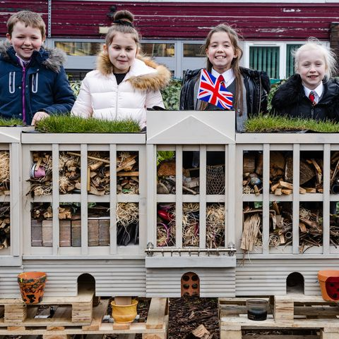 The Eco Emeralds - insect hotel