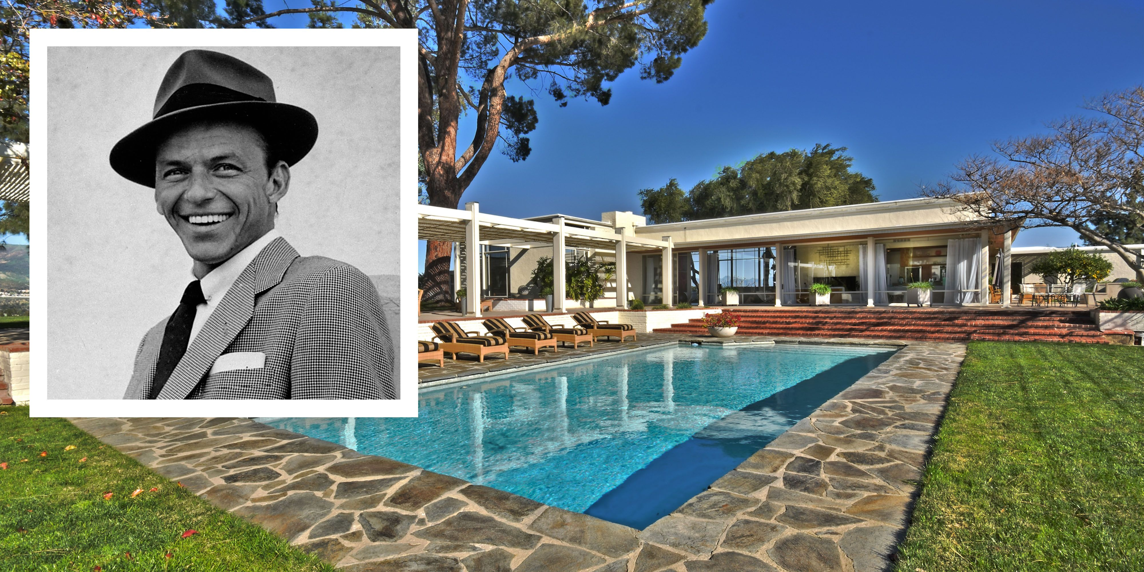 Frank Sinatra's Legendary Byrdview L.A. Estate Hits the Market for $12.5 Million