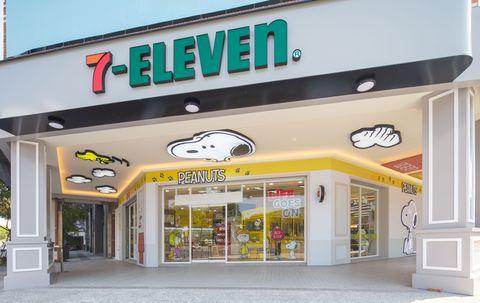7 11 x snoopy史努比主題店前進「台南、高雄!」