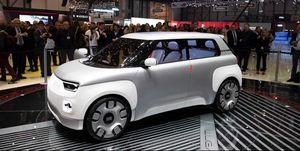 2019 Fiat Centoventi Geneva concept