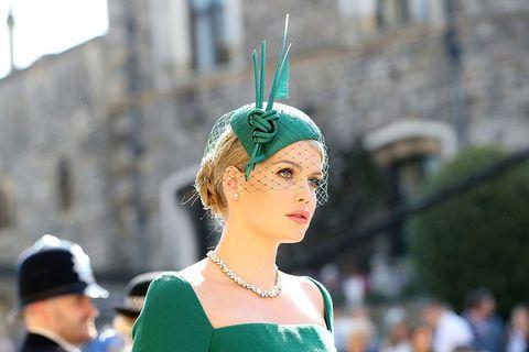 Lady Kitty Spencer,哈利大婚,梅根王妃,黛安娜王妃姪女,妝容解析,夏洛特緹布瑞Charlotte Tilbury,BEAUTY