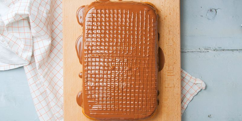 Jaffa Cake Tray Bake Recipe
