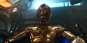 C-3PO red eyes - Star Wars: The Rise of Skywalker