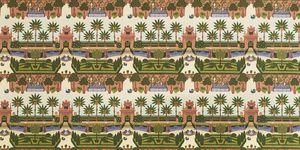 'Alcazar Garden' wallper from the Seville Collection by Cole & Son