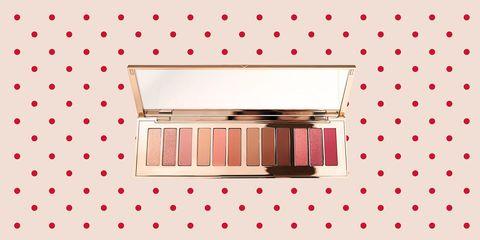 Pink, Cosmetics, Beauty, Eye, Organ, Eye shadow, Human body, Material property, Peach, Pattern,