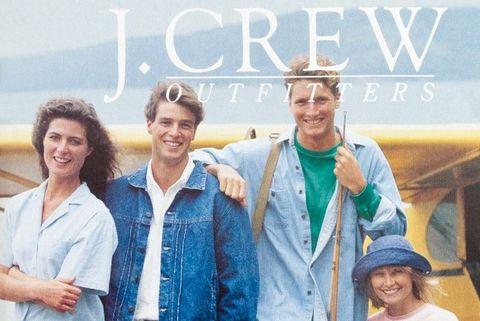 vintage j crew ad
