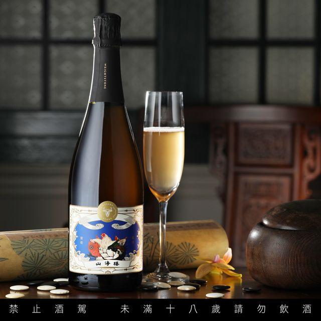 山海樓攜手威石東酒莊打造聯名酒款!山海樓以「台灣菜 x 台灣地酒」為題同步推出奢華版夜市小吃飯盒